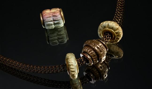 Bronze Core Beads