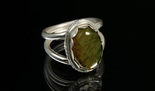 Fancy Bezel Ring