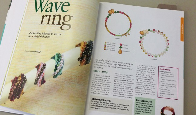 Featured in Creative Beading – Vol. 5