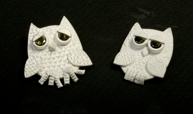Who Me? Owl Pendant