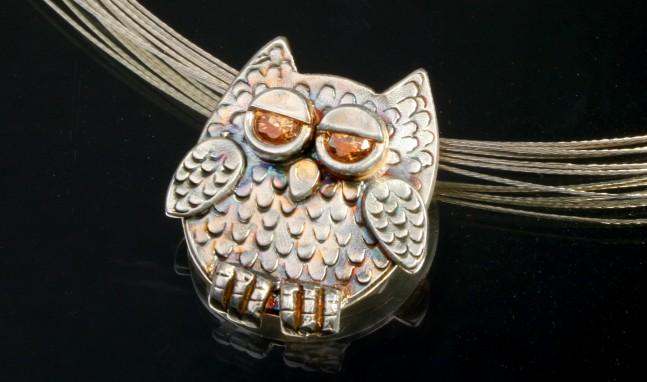 Who, Me? Owl Pendant