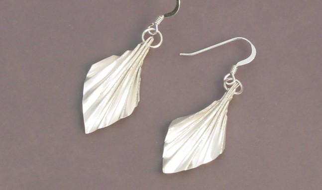 Fan Fold Earrings