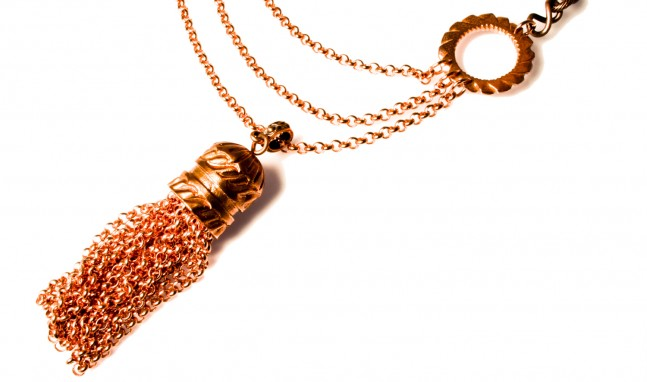 Copper Tassle