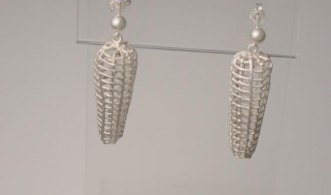 Hollow Syringe Earrings