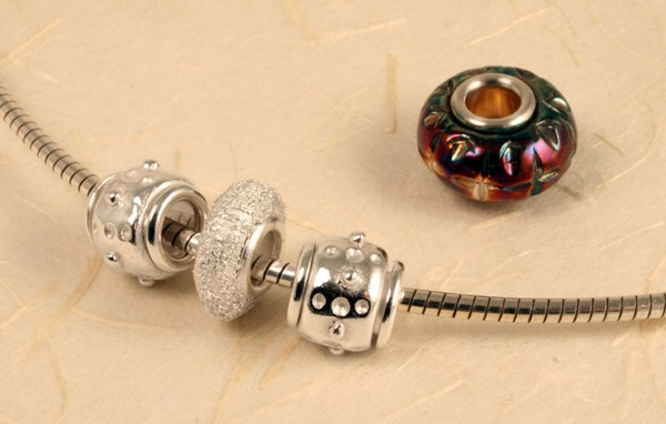 Silver Core Beads