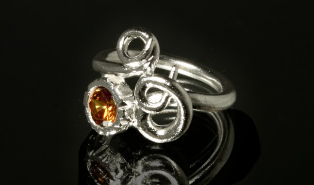 Carved Bezel Ring