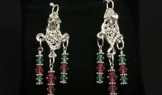 Filigree Freefall Earrings