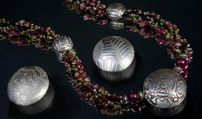 Hollow Lentil Beads