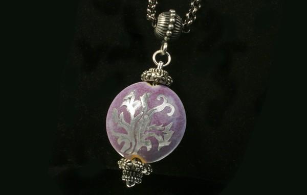 Sgraffito Beads