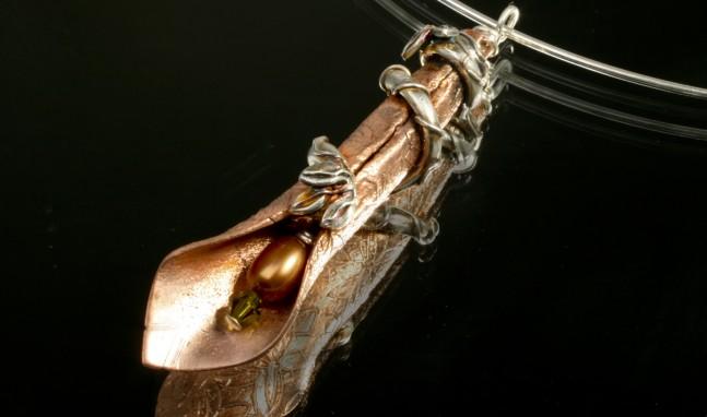Trumpet Flower Pendant